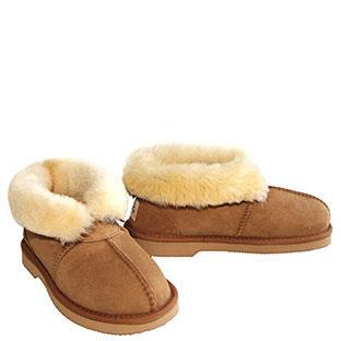 Aussie Slippers - Chestnut