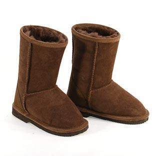 Classic Kids Ugg Boots - Chocolate
