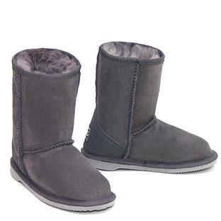 Classic Kids Ugg Boots - Grey