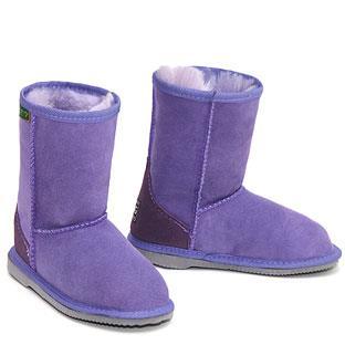 Classic Kids Ugg Boots - Purple