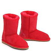 Classic Kids Ugg Boots - Red