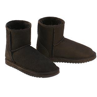 Classic Mini Ugg Boots - Black