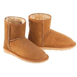 Classic Mini Ugg Boots - Chestnut
