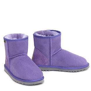 Classic Mini Ugg Boots - Purple