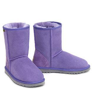 Classic Short Ugg Boots - Purple