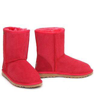 Classic Short Ugg Boots - Red