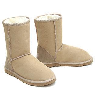 Classic Short Ugg Boots - Sand