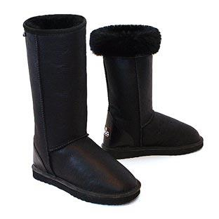 Classic Tall Bomber Ugg Boots - Black
