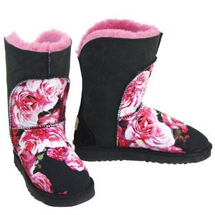 Crescent Short Boots - Bloom