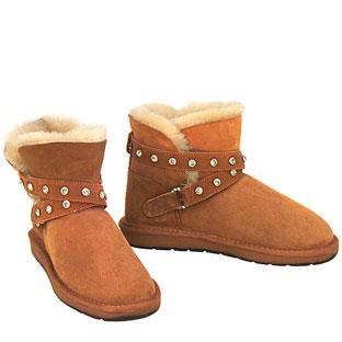 Cutesy Mini Ugg Boots - Chestnut
