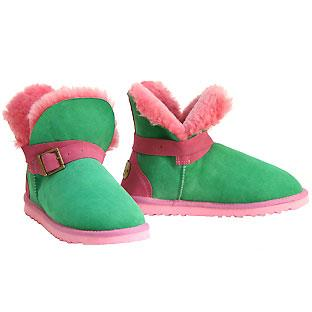 Cutesy Mini Ugg Boots - Watermelon