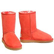 Deluxe Classic Short Ugg Boots - Coral