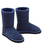 Deluxe Classic Short Ugg Boots - Navy