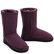 Deluxe Classic Short Ugg Boots - Plum- Clearance Sale