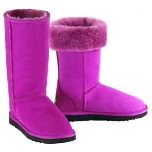 Deluxe Classic Tall Ugg Boots - Fuchsia