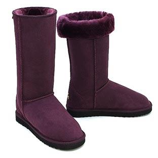 Deluxe Classic Tall Ugg Boots - Plum