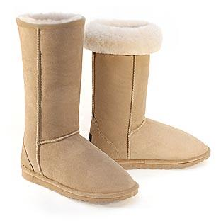 Deluxe Classic Tall Ugg Boots - Sand