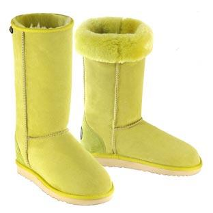 Deluxe Classic Tall Ugg Boots -  Lime