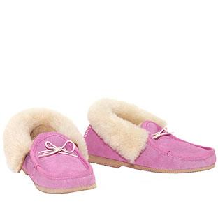 Deluxe Moccasins Candy Pink