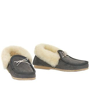 Deluxe Moccasins Grey