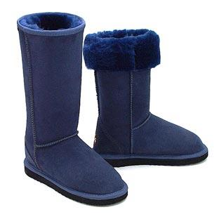 Deluxe Classic Tall Ugg Boots - Navy