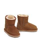 Mini Kids Ugg Boots - Chestnut