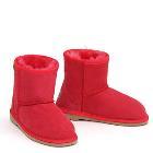 Mini Kids Ugg Boots - Red