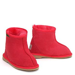 Rip Kids Ugg Boots - Red