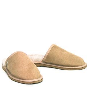 Mens Comfort Scuffs Sand