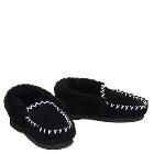 Thick Sole Moccasins Black