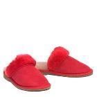 Ladies Lux Scuffs Red