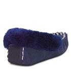 Back support Moccasins Navy