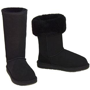 Outback Tall Ugg Boots - Black