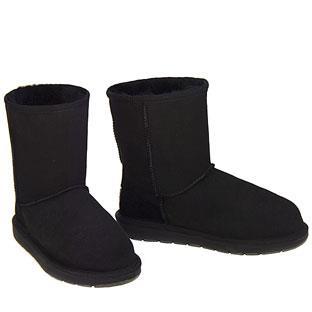 Outback Short Ugg Boots - Black