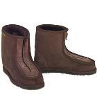 Eskimo Joe Front Zip Deluxe Ugg Boots - Chocolate