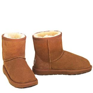 Outback Mini Ugg Boots - Chestnut