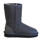 Classic Short Bomber Ugg Boots - Grey