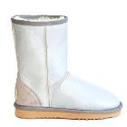 Classic Short Bomber Ugg Boots - White Pearl