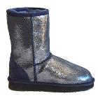 Deluxe Classic Short Ugg Boots - Sparkle Blue