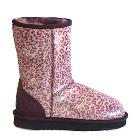 Safari Classic Short Ugg Boots - Leopard Purple