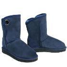 Shearling Pola Ugg Boots - Navy