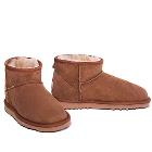 Deluxe Ultra Short Ugg Boots - Chestnut