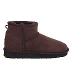 Deluxe Ultra Short Ugg Boots - Chocolate