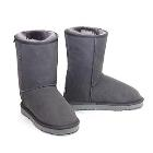 Deluxe Classic Short Ugg Boots - Grey