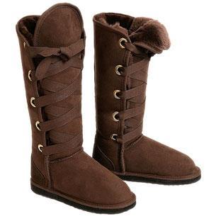 Roxane Ugg Boots - Chocolate