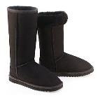 Deluxe Classic Tall Ugg Boots - Black