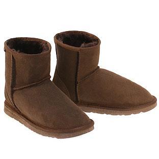 Classic Mini Ugg Boots - Chocolate