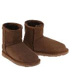 Deluxe Classic Mini Ugg Boots - Chocolate