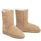 Two Button Wraps Ugg Boots - Sand -  Clearance Sale