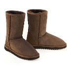 Deluxe Classic Short Ugg Boots - Chocolate
